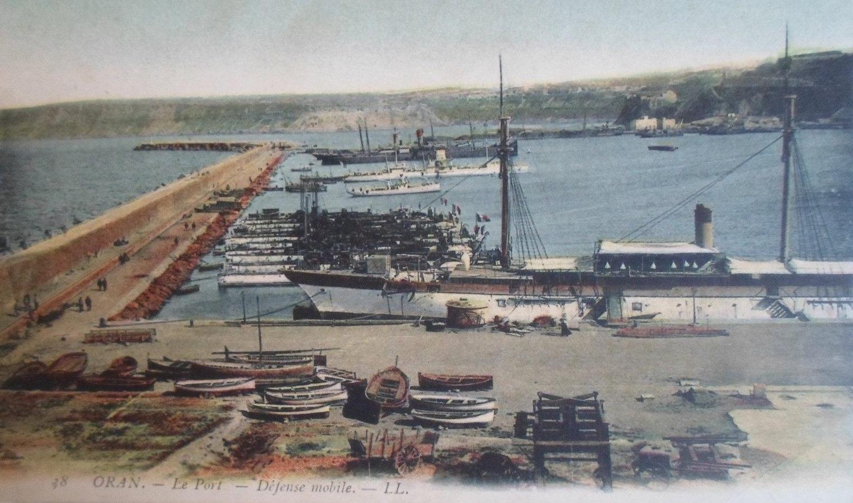 Oran, widok na port