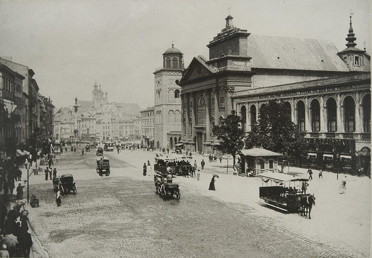 Obraz Warszawy w Lalce