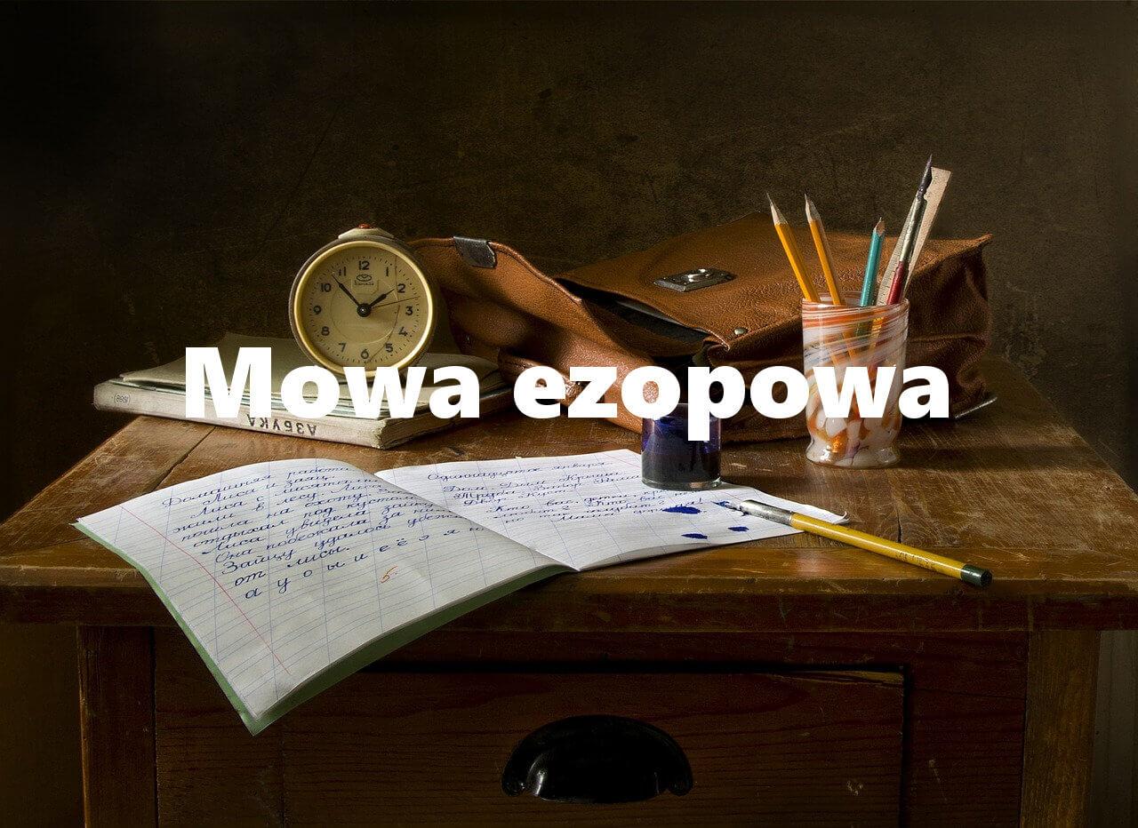 Język ezopowy w Lalce
