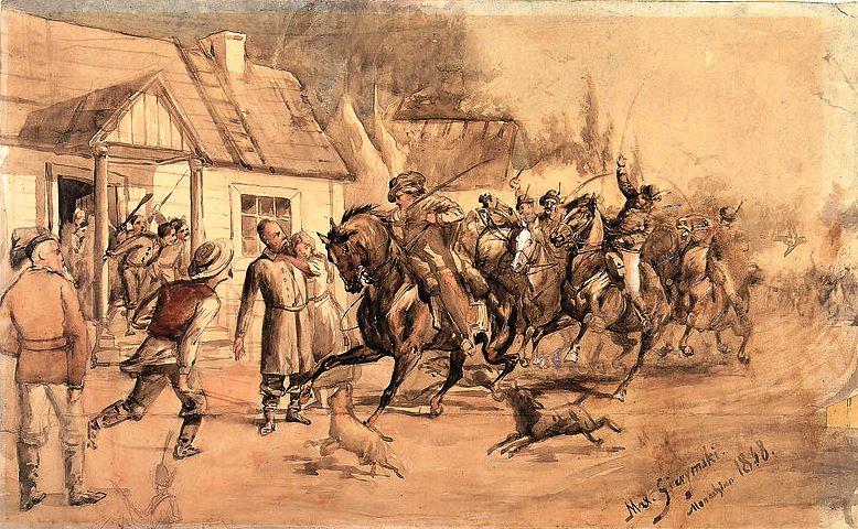 Jak przebiegała bitwa w Panu Tadeuszu?
